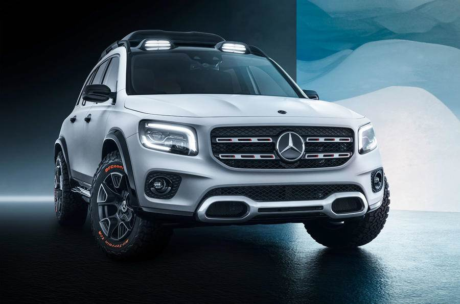 Mercedes-Benz GLB Concept revealed ahead of Shanghai debut