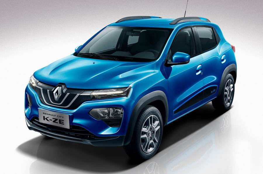 New Renault Kwid K-ZE EV revealed