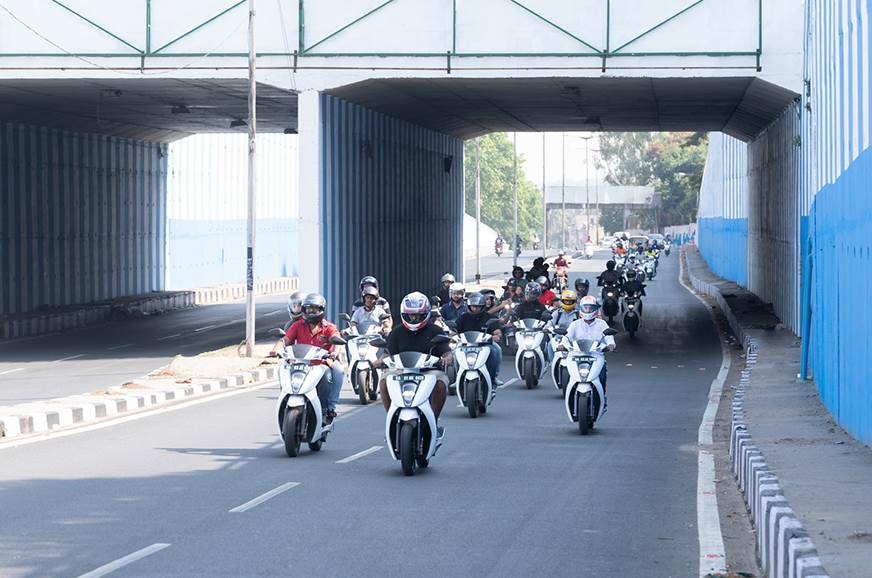 Ather organises India's first two-wheeler EV owners' meet
