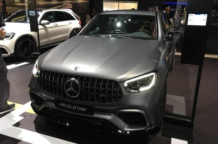 New Mercedes-AMG GLC 63, GLC 63 Coupe revealed in New York
