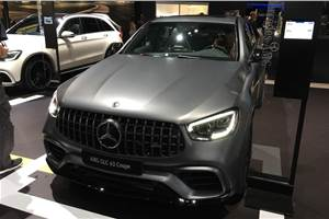 New Mercedes-AMG GLC 63, GLC 63 Coupe revealed in New York