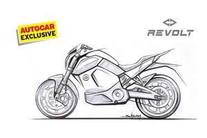 Revolt e-motorcycle gets ARAI range of 156km, launches in June