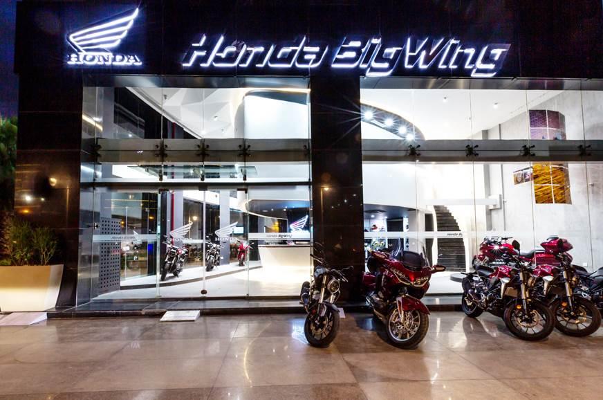 First Honda BigWing showroom inaugurated in India