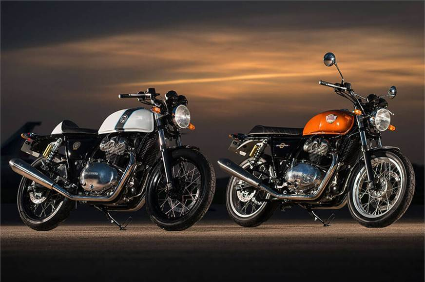 Royal Enfield 650 Twins sell 5,168 units in 5 months