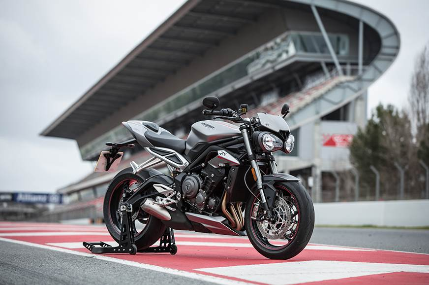 Triumph Track Experience to be held in India for the first time