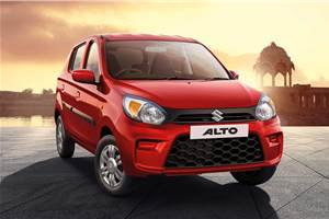 Maruti Suzuki Alto facelift launched at Rs 2.94 lakh