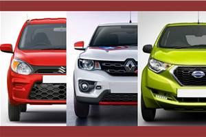 2019 Maruti Suzuki Alto price comparison