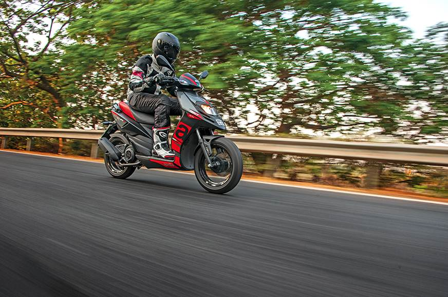 2019 Aprilia SR 150 ABS review, test ride