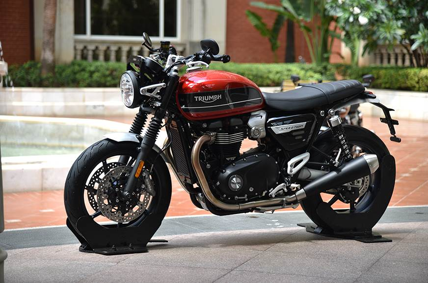 Triumph Speed Twin launched at Rs 9.46 lakh