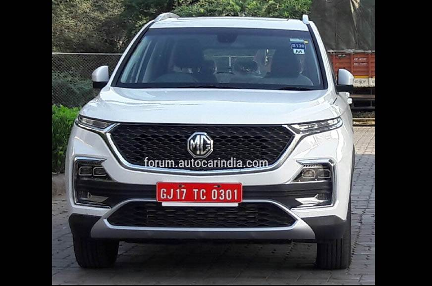 MG Hector production to start from April 29, 2019