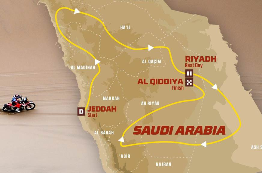 2020 Dakar Rally in Saudi Arabia: route details revealed