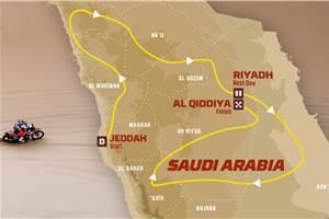 2020 Dakar Rally in Saudi Arabia: route details revealed
