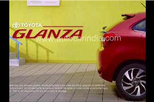 Toyota Glanza teaser out