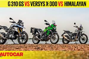 Video comparison: Himalayan vs Versys-X300 vs G 310 GS