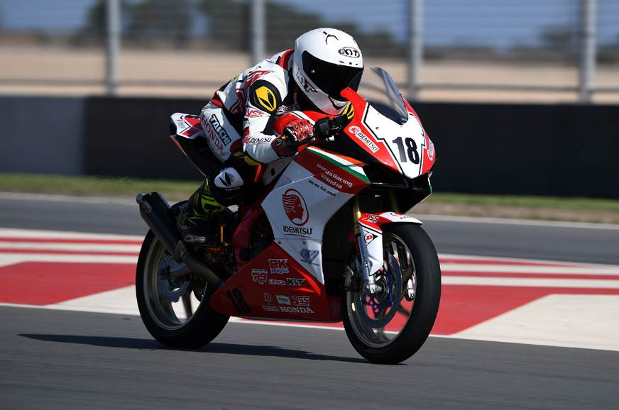 2019 ARRC: Honda India's Rajiv Sethu secures first top-10 finish in Round 2
