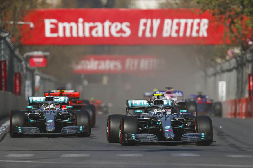 2019 Azerbaijan GP: Bottas leads 1-2 finish for Mercedes