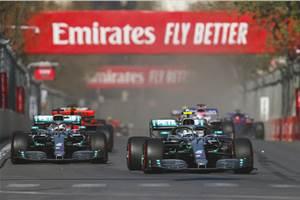 2019 Azerbaijan GP: Bottas leads 1-2 finish for Mercedes