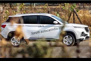 MG Hector India launch in first-half of June 2019