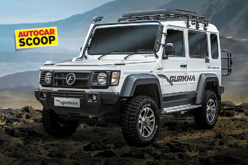 SCOOP! All-new Force Gurkha expected next year