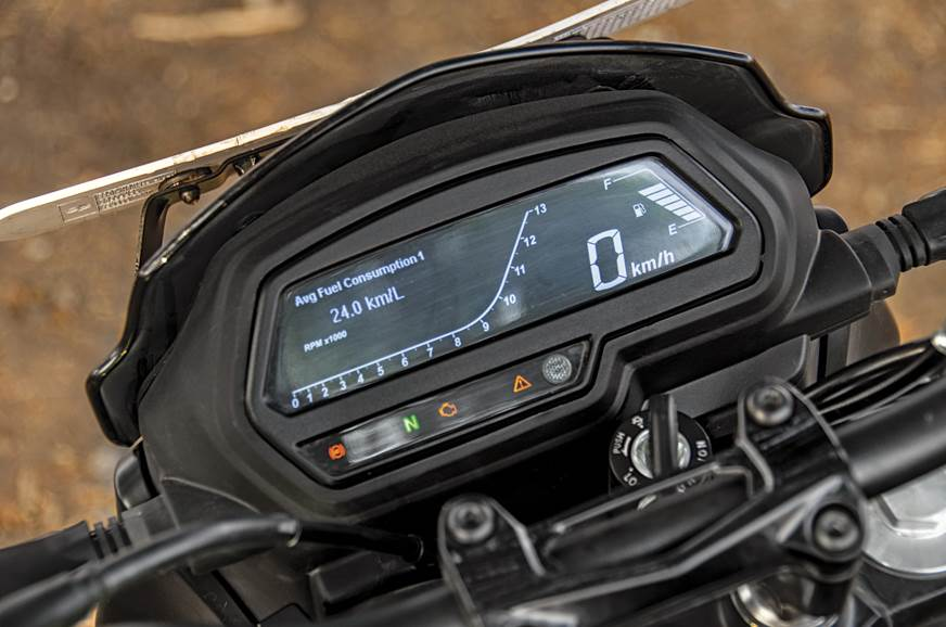 New average fuel consumption feature proves to be very ac...