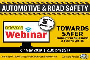 Autocar Professional to host global automotive safety webinar on May 6