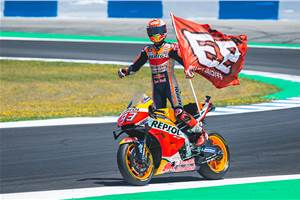 2019 Spanish MotoGP: Marquez wins in Jerez