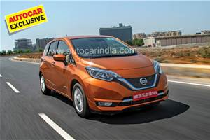 Nissan Note e-Power review, test drive