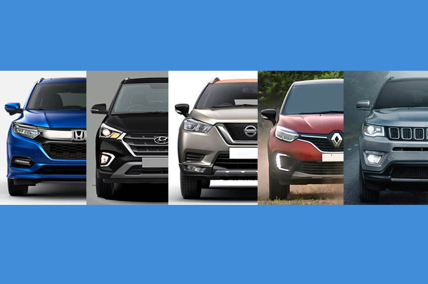 Honda HR-V vs rivals: Specifications comparison