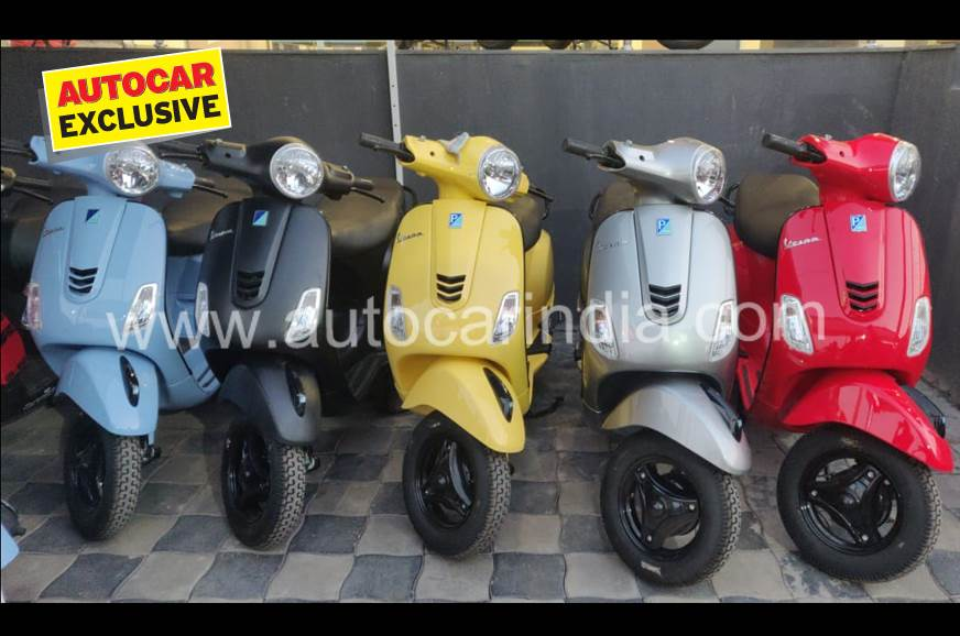 Entry-level Vespa Urban Club 125 reaches dealerships