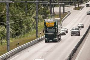 Germany opens its first electrified highway section