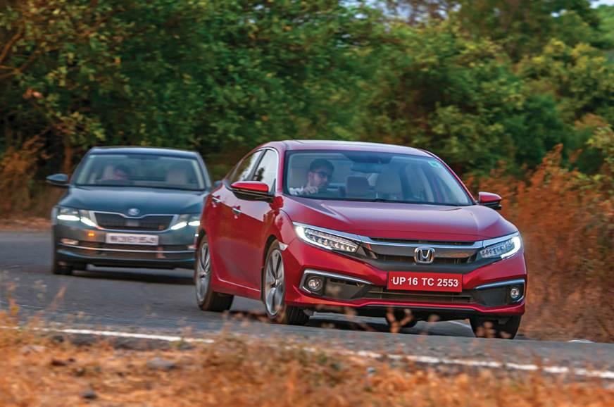 Honda Civic vs Skoda Octavia comparison