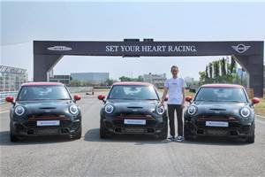Mini John Cooper Works launched in India, priced at Rs 43.50 lakh