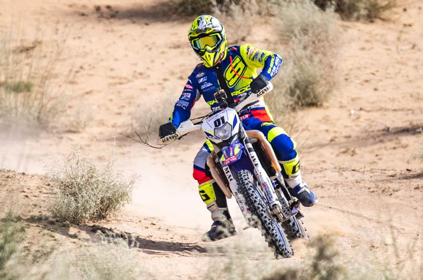 2019 Desert Storm: Aabhishek Mishra and Adrien Metge in the lead after SS4