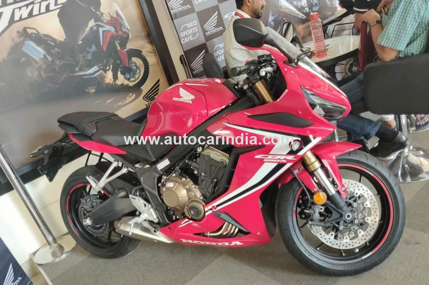Honda CBR650R reaches dealerships