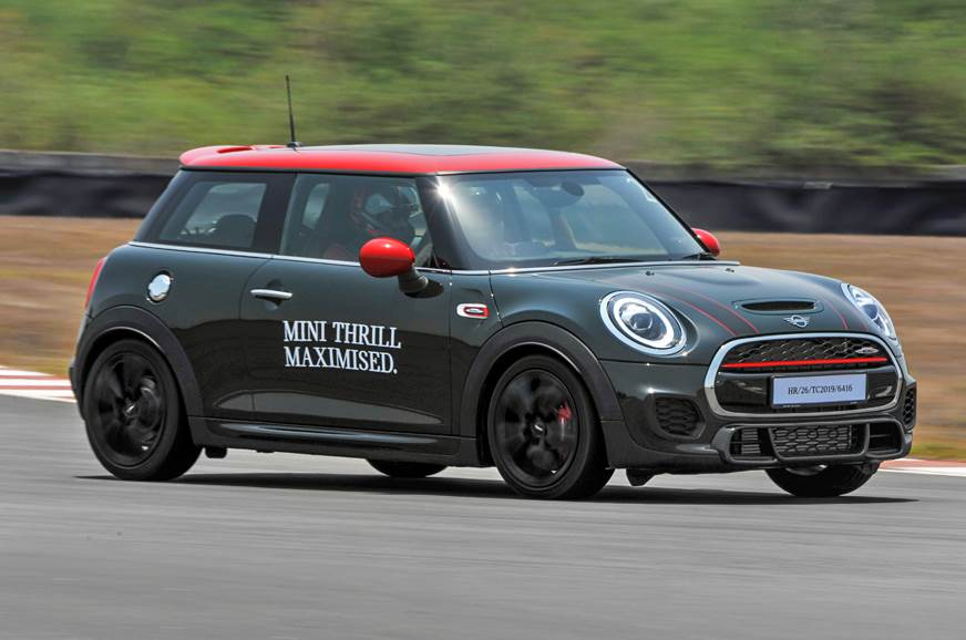 2019 Mini John Cooper Works review, track drive
