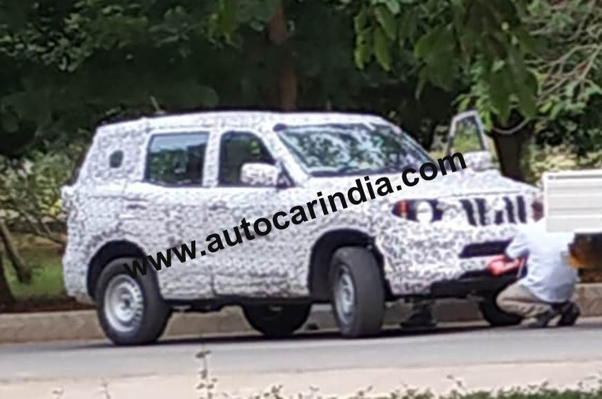 Next-gen Mahindra Scorpio spied for the first time