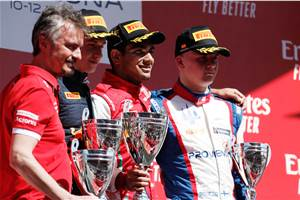 2019 FIA F3: Jehan Daruvala wins eventful Race 2 in Barcelona