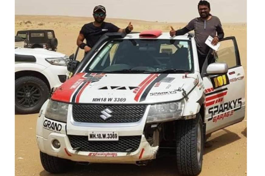 Aabhishek Mishra and Adrien Metge win 2019 Desert Storm