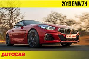 2019 BMW Z4 Roadster video review