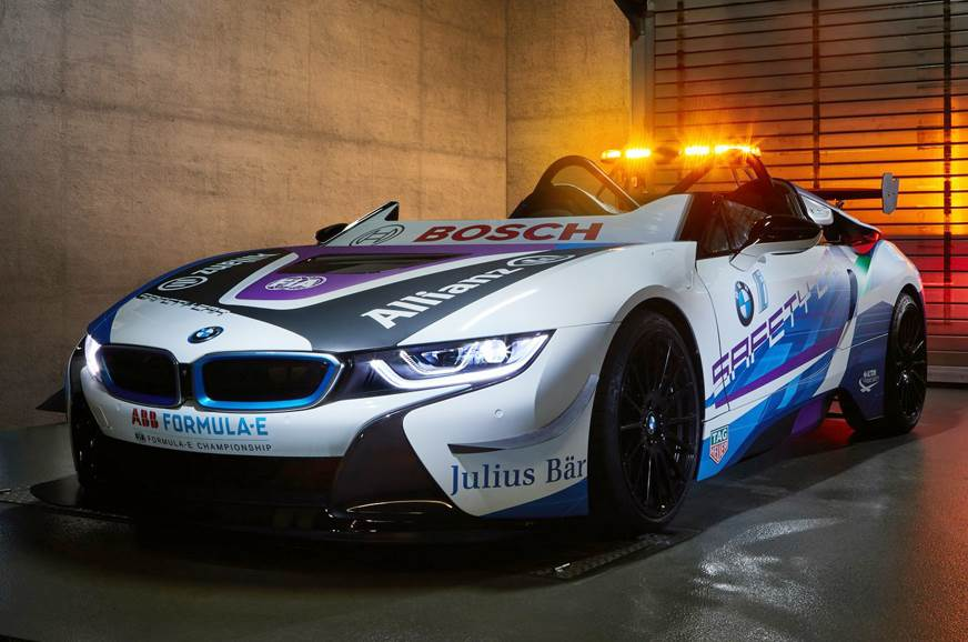 BMW i8 Roadster revealed as new Formula E safety car