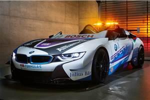 BMW i8 Roadster revealed as new Formula E safety car