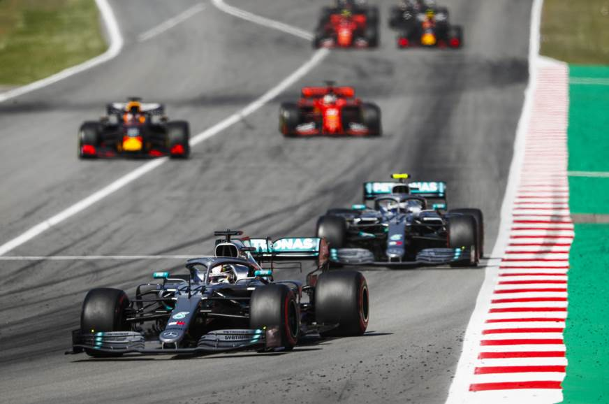 Mercedes continues to dominate as Hamilton wins 2019 Spanish GP