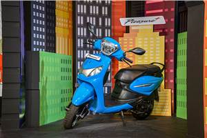 Hero Pleasure Plus 110 launched at Rs 47,300
