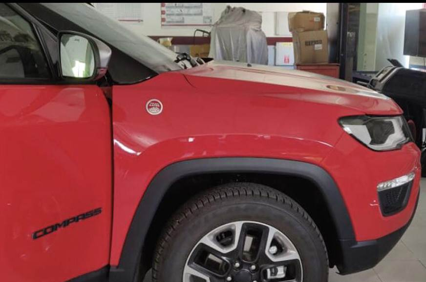 India-spec Jeep Compass Trailhawk images leak ahead of July 2019 launch