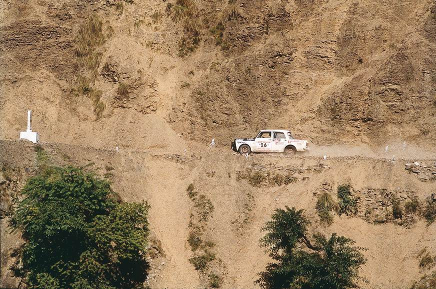 Hoosein founded the Himalayan Rally, an international ral...