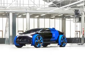 Citroen 19_19 concept previews autonomous long-distance vehicle