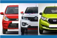 2019 Maruti Suzuki Alto vs rivals: Specifications comparison
