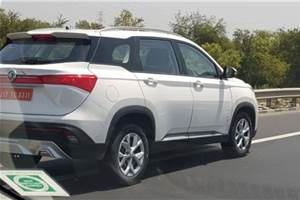 MG Hector specifications and variants leaked
