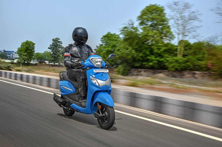 2019 Hero Pleasure Plus review, test ride
