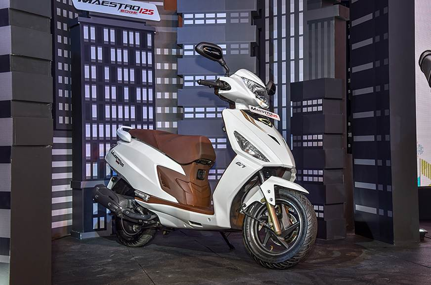 Hero Maestro Edge 125 launched at Rs 58,500